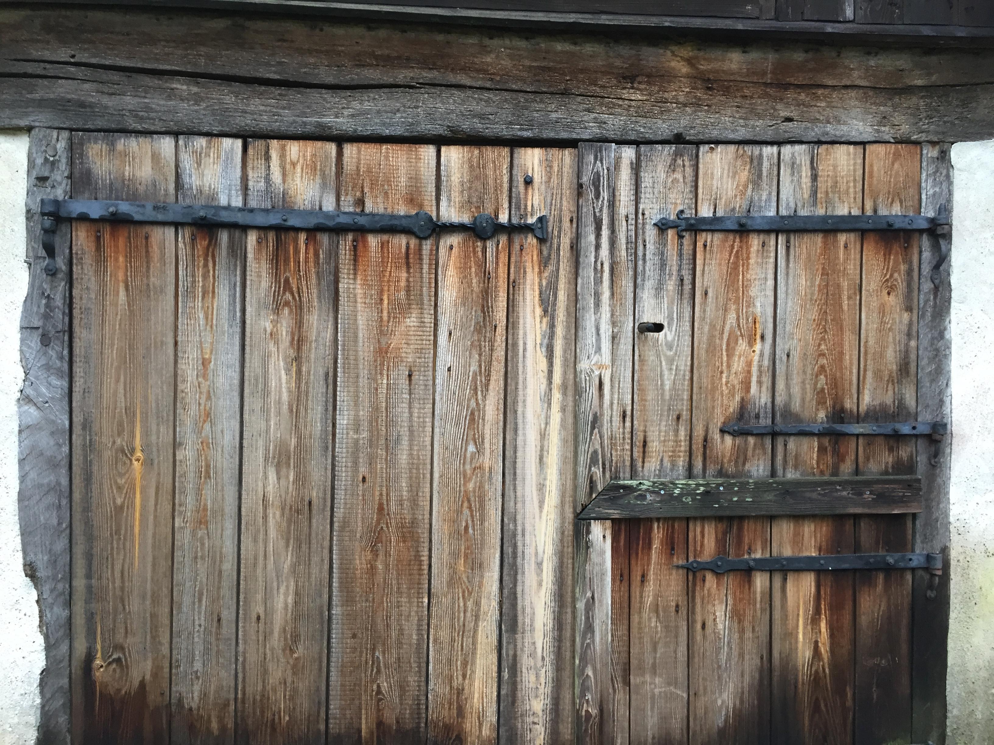 Dörr till stallet